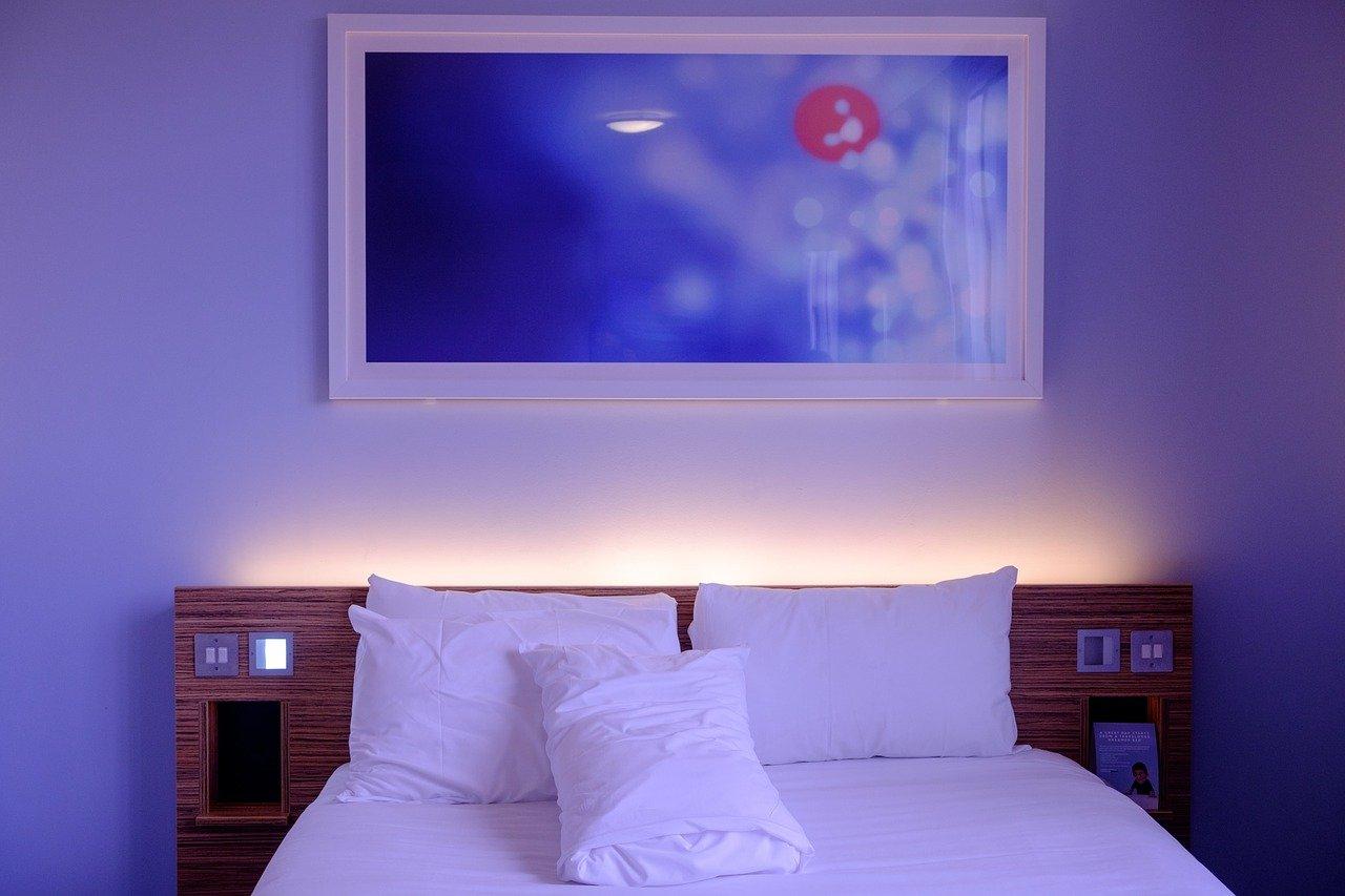 chambre violets