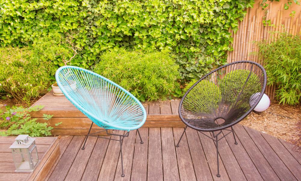 Les salons de jardin de chez Delorm Design